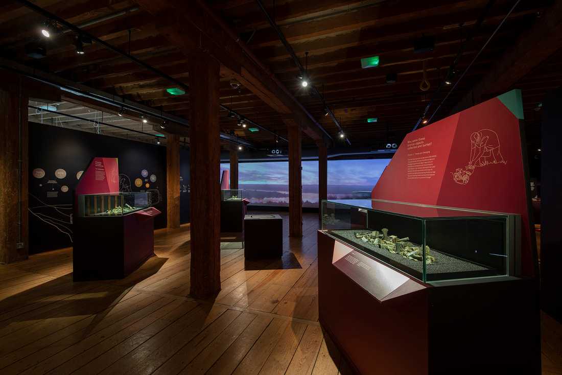 Havering Hoard exhibition, Museum of London Docklands