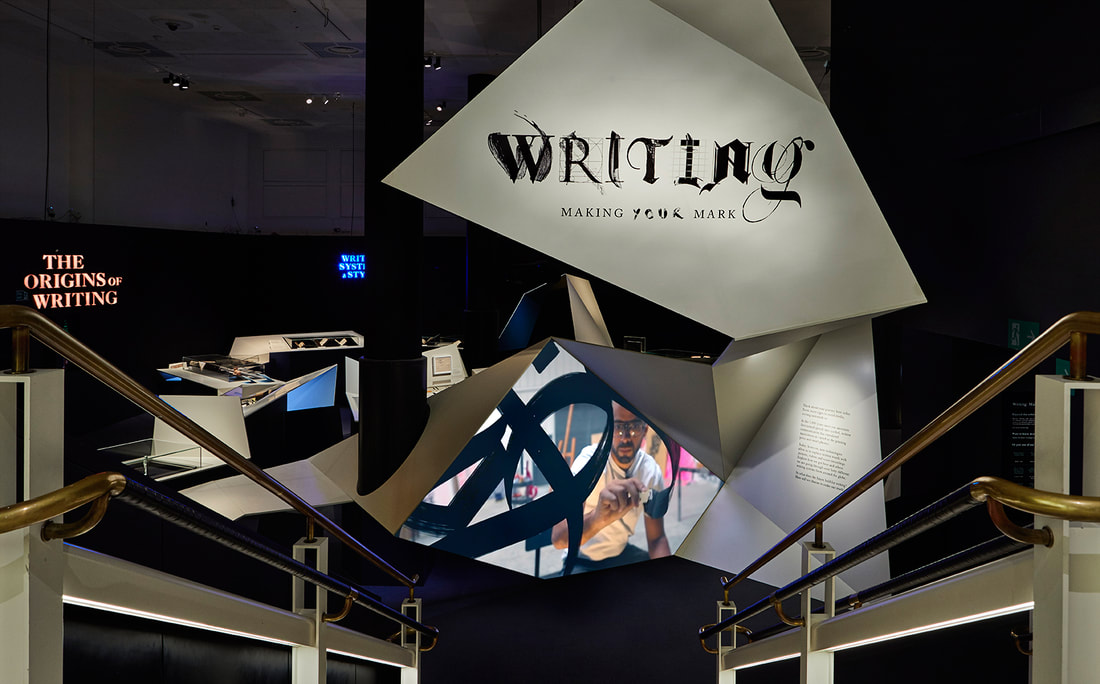 Writing: Making Your Mark exhibition at the British Library